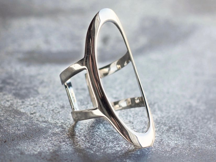 Antelope Bijoux Rock Argent Sterling Bague Tennessee Collection ON THE ROAD_Fotor 2