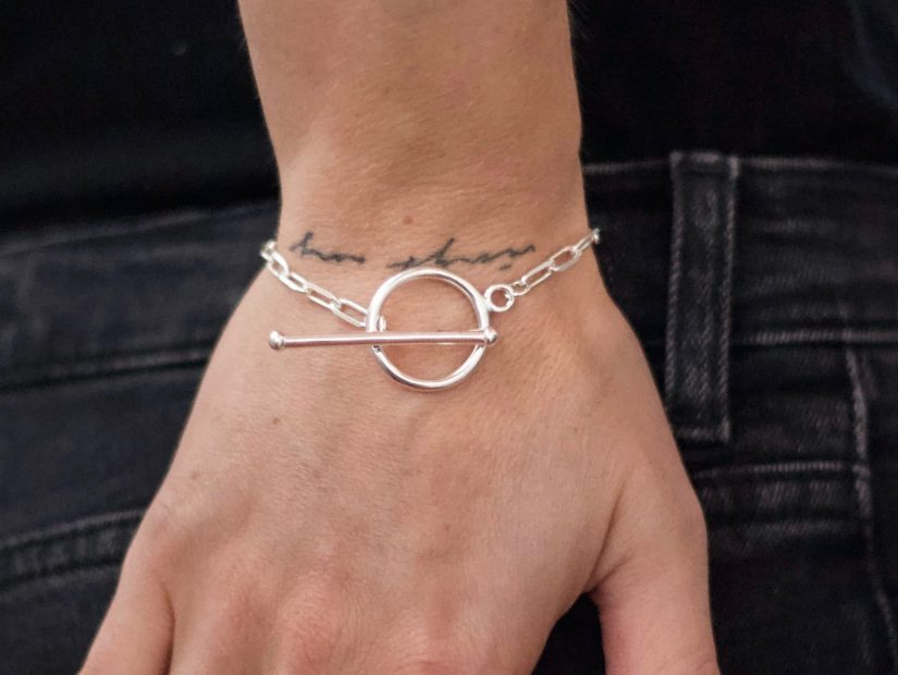 Antelope Bijoux Rock Argent sterling Bracelet Touch Me Collection Sex Appeal