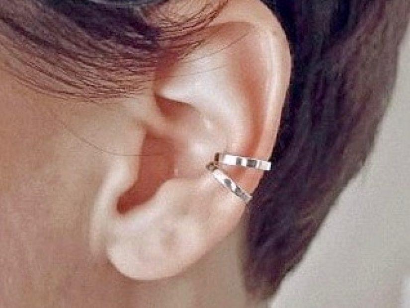 Antelope bijoux rock ethique argent sterling boucle d'oreille ear cuff