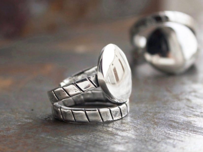 Antelope_Bijoux_Hold_Me_Tight_bague_double_Argent_Sterling_Collection_Bondage